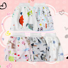 Kids Comfy Childrens Diaper Skirt Shorts Waterproof and Absorbent Shorts M/L