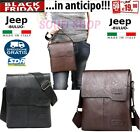 NUOVI ARRIVI Borsello tracolla borsa uomo Jeep Buluo Casual Men Pu leather Bag