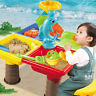 1 Set Sand and Water Table Sandpit Indoor/Outdoor Beach Kids Children Play Toys