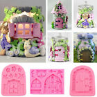 3d Fairy House Door Silicone Fondant Mould Cake Decorating Chocolate Craft Mold