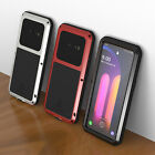 For LG V60 V40 G8 ThinQ Aluminum Shockproof Screen Protector Metal Case Cover