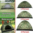 Waterproof 1-4 Person Automatic Outdoor Camping Hiking Tent  Camouflage US STOCK