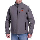Men's Small M12 12-Volt Lithium-Ion Cordless Gray Heated Jacket (Jacket Only)