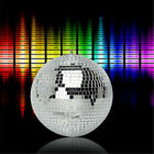 1pc 4  8cm Mirror Glass Disco Ball DJ Dance Home Party Bands Club Stage Lighting
