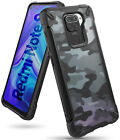 For Xiaomi Redmi Note 9 Case | Ringke [FUSION-X] Rugged Protective Clear Cover