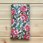 USA FOR SAMSUNG GALAXY A51 HANDMADE PHONE CASE FABRIC AND SMALL POCKET FLOWERS