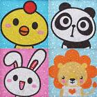 5D DIY Full Drill Diamond Painting Cartoon Animal Kids Embroidery Kit Gift #cz