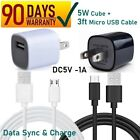 For 5V 1A IRULU USB AC/DC Charger JHD-AP006U-050100BB-2 & MICRO USB Cable [7