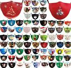 Face Mask0 Reusable Washable Protective Breathable Covering Christmas Print Sale