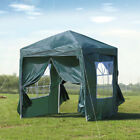 2x2 3x3 m Pop up Gazebo Garden Marquee Party Tent Outdoor Sun Canopy Waterproof