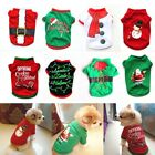Pets Fancy Jumpsuit Christmas Dog Costumes Clothes Apparel for Puppy Dogs Cats