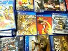 PS4 Video Games Assorted Titles Opened and Unopened ALL New Condition!