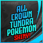 【Ultra Shiny 6IV】✨ Pokemon Sword & Shield All Crown Tundra DLC ✨【Battle Ready】