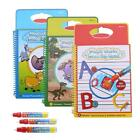 New Baby Kid Water Drawing Book Painting Board with Pen Learning Toy Reusable