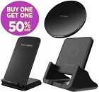 Qi Wireless Fast Charger Charging Stand Pad Dock For Samsung Android Lg Iphone