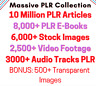 More images of 10, 00,000 PLR Articles,  digital books, Stock Images, Video Footage