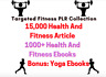 More images of 15,000+ Fitness And Health Articles, Diet Plans, Recipes, Yoga digital books