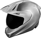 ICON Variant Pro Quicksilver ADV Full Face Helmet BRUSHED SILVER