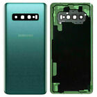 Battery Back Door Cover +Glass Camera Lens For Samsung Galaxy S10 Plus S10e S10+