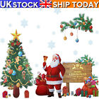 Merry Christmas Tree Wall Window Oversized Stickers Decals Xmas Home Shop Decor