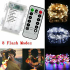 20-1000 LED Mains Fairy String Lights Christmas Tree Party Outdoor Garden Lights