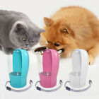 Portable Pet Water Bottle Dispenser for Dog Cat Compact Travel Folding Tray Bowl