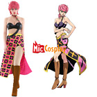 Women's Golden Wind Trish Una Cosplay Costume Dress