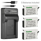 Kastar Battery Slim USB Charger for GoPro ASBBA-001 & Gopro Fusion Action Camera action battery camera charger for fusion gopro kastar slim usb