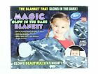 Magic Glow In The Dark Blanket 50x60 Inches Super Soft Choose Style
