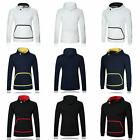 Casual solid sweater hooded Pullover sleeve men's l long color sports Fashion
