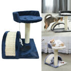 3 Color Cat Tree Scratching Post Scratcher Activity Play Centre Kitten Toys OL