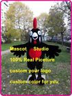 Black Cock Mascot Costume Suit Cosplay Party Game Dress Outfit Halloween Adult