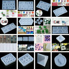 Silicone Mould DIY Resin Casting Jewelry Pendant Cake Cookie Mold Crafts Gift