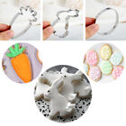 Stainless Steel Biscuit Mould Cake Mold Easter Rabbit Easter Cookies Cutter
