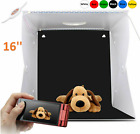 40x40 LARGE SIZE LED Photography Light Box Shooting Light Tent 10-Levels Dimming
