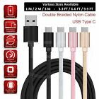 Charging Cable for Samsung Galaxy M31 Prime Charger USB TypeC Data Cable Braided