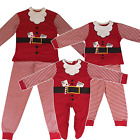 Family Mum Dad Kids Children Baby Christmas Santa Claus Festive Xmas Pyjamas PJ