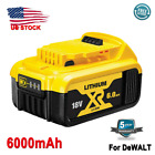 For DEWALT DCB206-2 20 Volt Lithium Ion 5.0AH 6.0AH 4.0AH Battery DCB206 DCB205