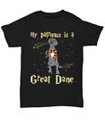 My Patronus Is A great dane Premium T-shirt Gift for Dog Lovers Premium T-shirt