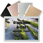 New 10.1'' Android 8.0 Tablet PC Octa Core WIFI HD 128G GPS WIFI Dual Camera