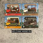 Nintendo Animal Crossing Welcome Amiibo RV JAPANESE #1-50 YOU PICK CARDS