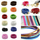 1M 3mm Faux Suede String Jewelry Making Bracelet DIY Velvet Leather Thread Cord