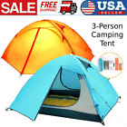 Camping Tent 3-Person Single Layer Outdoor Portable Camouflage Hiking
