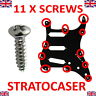 More images of Screws Silver Fender Stratocaster Electric Guitar Pickguard Scratchplate 12 3mm