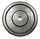 """*PRO GRADE* Olympic 2"""" Rubber Bumper Plates - LBS/KG - 5 10 15 20 25 35 45"""