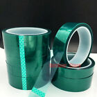 5mm 50mm  High Temperature Heat Resistant Insulation Tape PET Green Tape