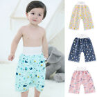 Waterproof Baby Diaper Skirt Infant Training Pants Flower Cloth Cotton Diaper