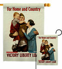 For Home and Country Garden Flag Service Armed Forces Decorative House Banner