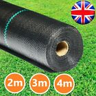 Heay Duty Membrane Weed Control Fabric Garden Cover Weed Barrier Under Decking