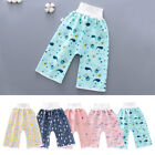 Waterproof Baby Diaper Home Protect Belly Training Soft Cotton Travel High Waist